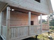 Дома из бруса проект Свитанок 6х6 м